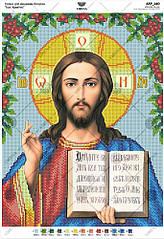 А4р 140 Схема для вишивки бісером Ісус Христос