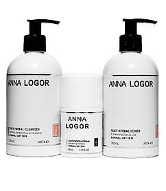 Набор косметики Anna LOGOR Silky Protein Kit Серия для сухой кожи лица