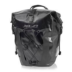 Комплект водонепроникних сумок XLC (2 шт), 21х18х46см, чорний
