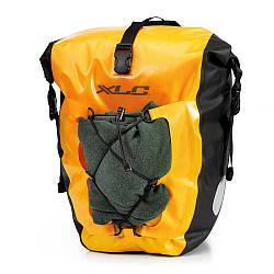 Комплект водонепроникних сумок XLC (2 шт), 21х18х46см, жовтий