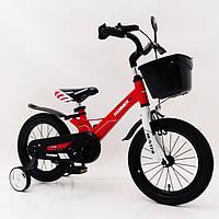 """Двухколесный алюминиевый велосипед Hammer Hunter 14"""" для детей от 3 до 6 лет"""