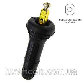 Вентиль легковой разборный для б/к шин, L=42,5mm, TPMS (под датчик)