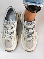 Farinni. Женские кроссовки. Натуральная кожа плюс текстиль. Размер 36.37.38.39.40, фото 2