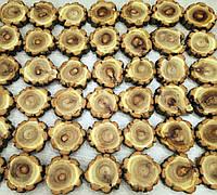 Спил,зріз дерева декоративний 7-8 див. Акація з корою