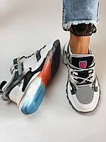 Жіночі кросівки з натуральної шкіри плюс текстиль. Розмір 36.38.39.40, фото 6