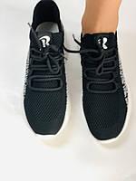 Стильні жіночі кеди-білі кросівки.В'язаний текстиль з сіткою.Відмінна якість! 36-39 Vellena, фото 8