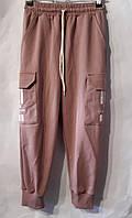 """Спортивні штани на манжеті з кишенями на дівчинку 116-134 см (2цв) """"BENTLEY"""" купити оптом в Одесі на 7 км"""