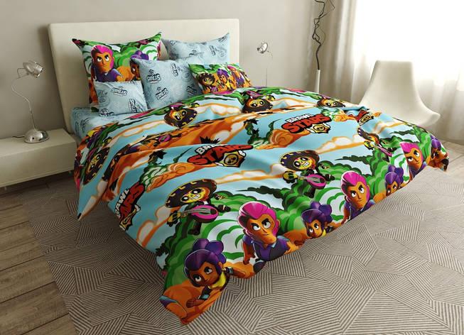 Детский комплект постельного белья 150*220 хлопок (16551) TM KRISPOL Украина, фото 2