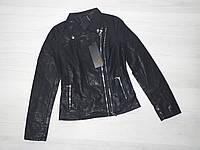 Стильная Кожаная куртка Косуха для женщин