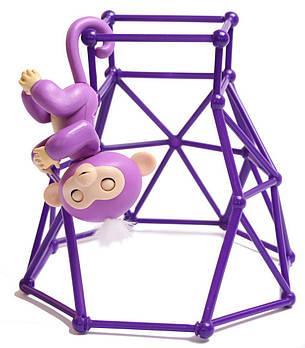 Интерактивный комплект Fingerlings Jungle Gym PlaySet + интерактивная обезьянка Mia