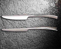 "Нож обеденный ""luxury"" 23 см, толщина лезвии 1,39 мм, толщина ручки 5,67 мм."