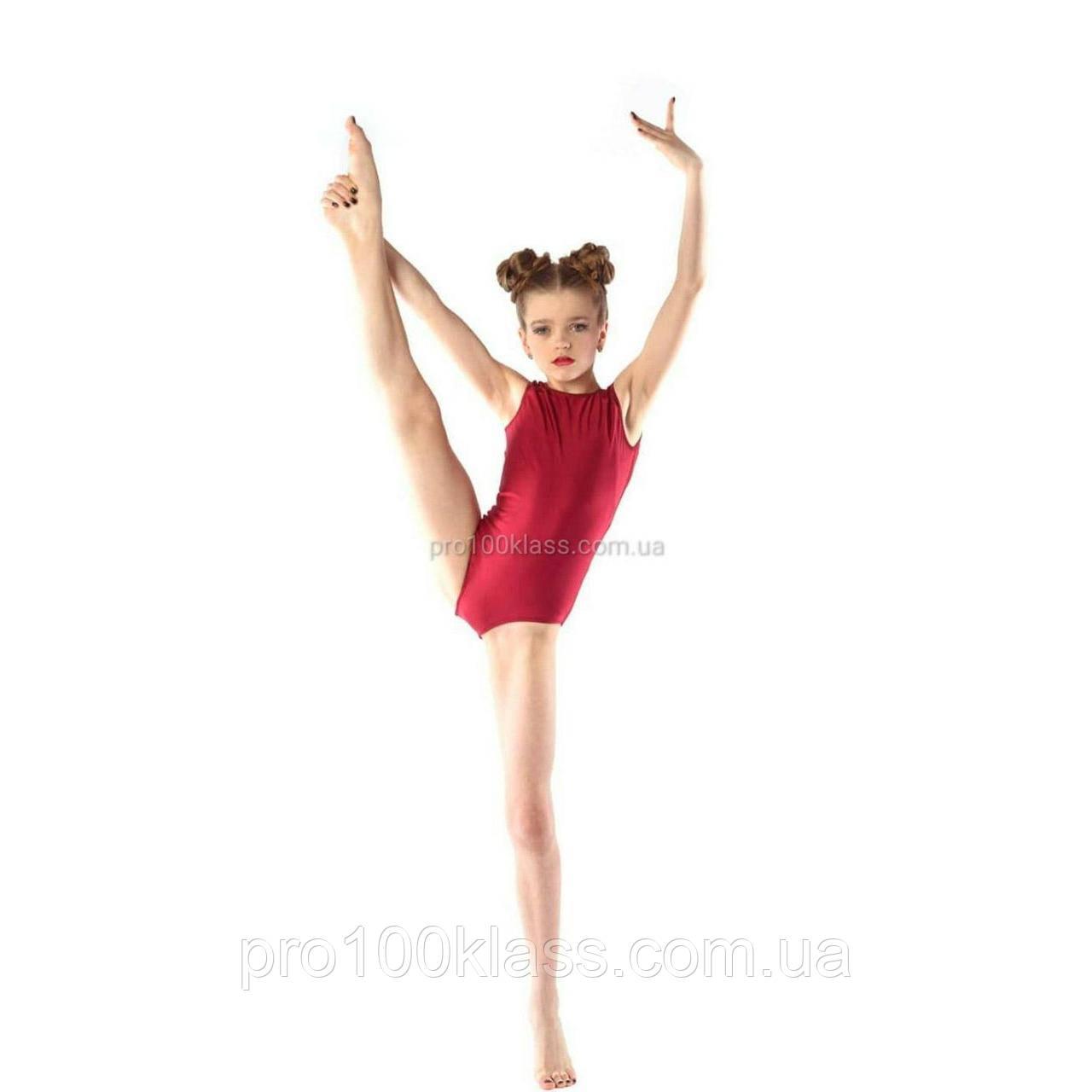 Купальник майка трико для художньої гімнастики і хореографії