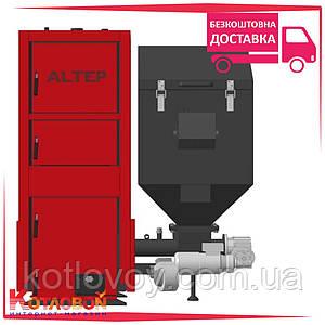 Твердотопливный котел с автоматической подачей АльтепДуо Пеллет (DuoPellet N)