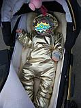 Купить детский осенне-весенний комбинезон, фото 6