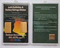 Антирадиационные наклейки на телефон, из сусального золота СК2