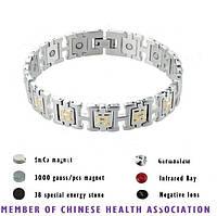 Магнитный стальной браслет Хелена 4в1, фото 1