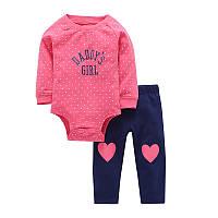 Комплект для дівчинки 2 в 1 Daddy's Girl Berni Kids (6 міс)