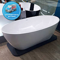 Отдельно стоящая матовая ванна 1680х830 Miraggio Estella, фото 1