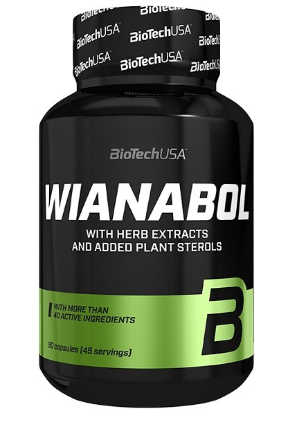 Бустер тестостерона Wianabol BioTech 90 капсул