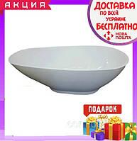 Отдельностоящая овальная ванна 170х80 см Veronis VP-177 белая, фото 1
