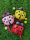 Дитячий рюкзак Божа корівка, фото 2