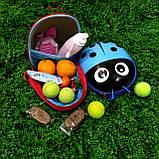 Дитячий рюкзак Божа корівка, фото 3
