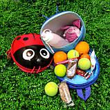 Дитячий рюкзак Божа корівка, фото 4