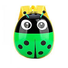 Дитячий рюкзак божа корівка Зелений