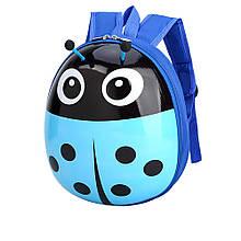 Дитячий рюкзак божа корівка Блакитний