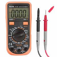 Мультиметр Accta AT-205, цифровой