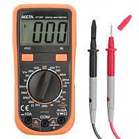 Мультиметр Accta AT-201, цифровой