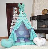 Вигвам Sweet dreams БОНБОН Полный комплект! Детский вигвам, детская палатка, детский домик, фото 3