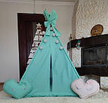 Вигвам Sweet dreams БОНБОН Полный комплект! Детский вигвам, детская палатка, детский домик, фото 4