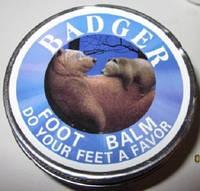 Бальзам для ног из медвежьего жира