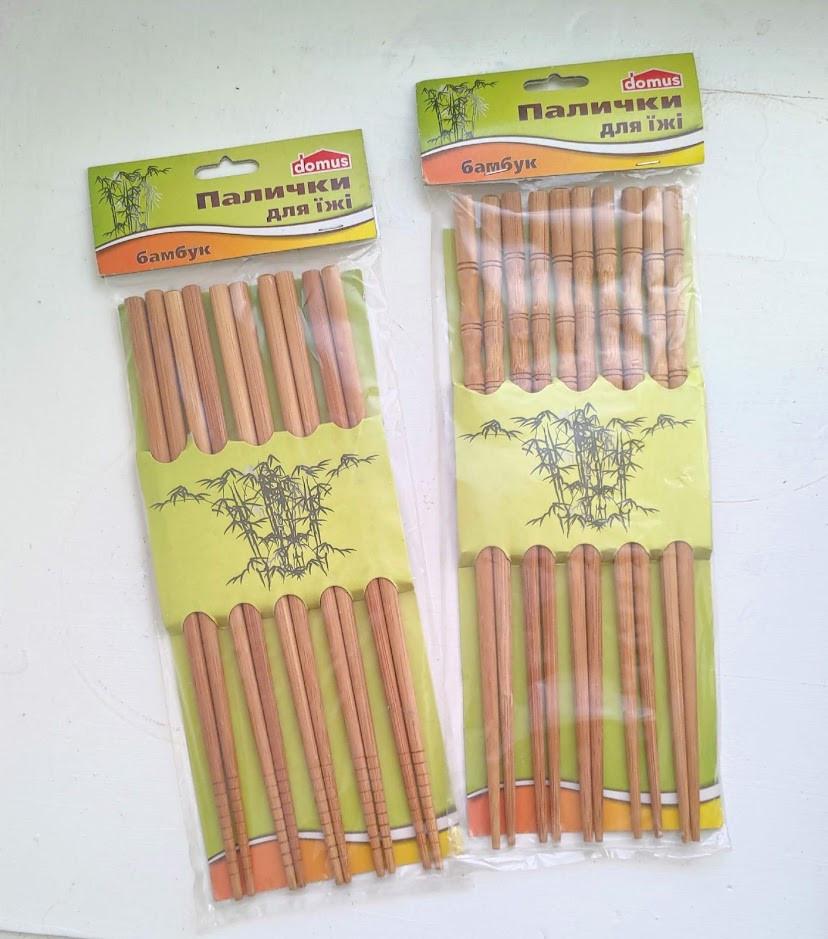 Набор Палочек (5пар). Палочки для суши. Палочки для роллов деревянные.