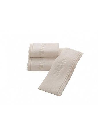 Рушник Soft Cotton LUNA 50*100 50*100, Кремовий, фото 2