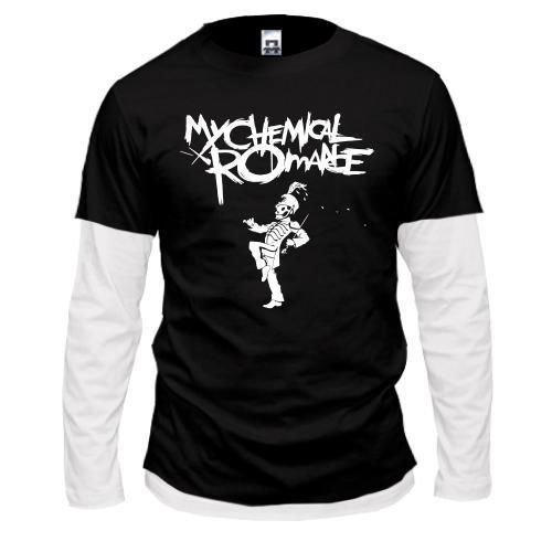 Лонгслив комбі My Chemical Romance - The Black Parade