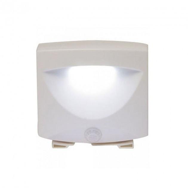 Светильник с датчиком движения LED Mighty Light для автоматического освещения в помещении или на улице