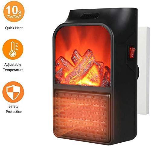 Електричний міні-обігрівач Flame Heater з LCD-дисплеєм і пультом управління