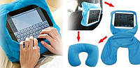 Автомобільна подушка-підставка SmartUS Go Go Pillow для планшета підголівник, фото 1