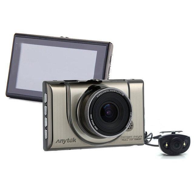 """🔥 Автомобільний відеореєстратор Anytek A100 Full HD з 3"""" дисплеєм + G-сенсор"""