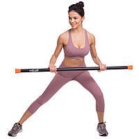 Гімнастична палиця Body Bar 8 кг l-1,22 м, d-40мм FI-1251-8