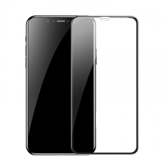 Защитное стекло для Apple iPhone XS MAX / 11 Pro MAX Baseus Full Coverage Curved Tempered Glass Protector