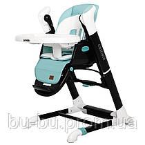 Стілець-гойдалка CARRELLO Cascata CRL-10303/1 Azure Green /1/ MOQ