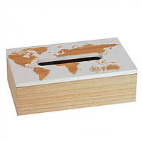 Бокс для серветок World map SKL11-283896