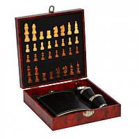 Подарочный набор Шахматы с флягой Jack Daniels SKL11-283956