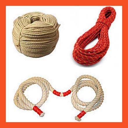 Спортивные и промышленные канаты, веревки статики