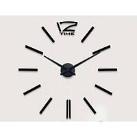Часы настенные 3D Diy ZH003 Большие Черные SKL79-240768
