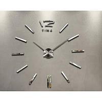 Часы настенные 3D Diy ZH003 Маленькие Серебро SKL11-240773