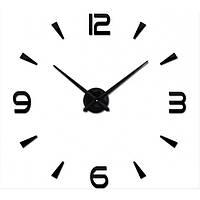 Часы настенные 3D Diy ZH034 Маленькие Черные SKL79-240778